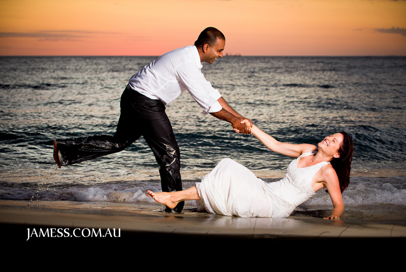 Marnie and Pras wedding photo by James Schokman Photographer Perth