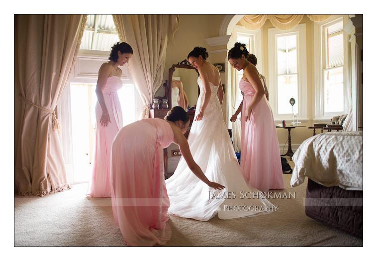 girls wedding dressing perth