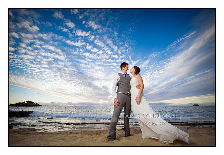 beautiful beach wedding perth