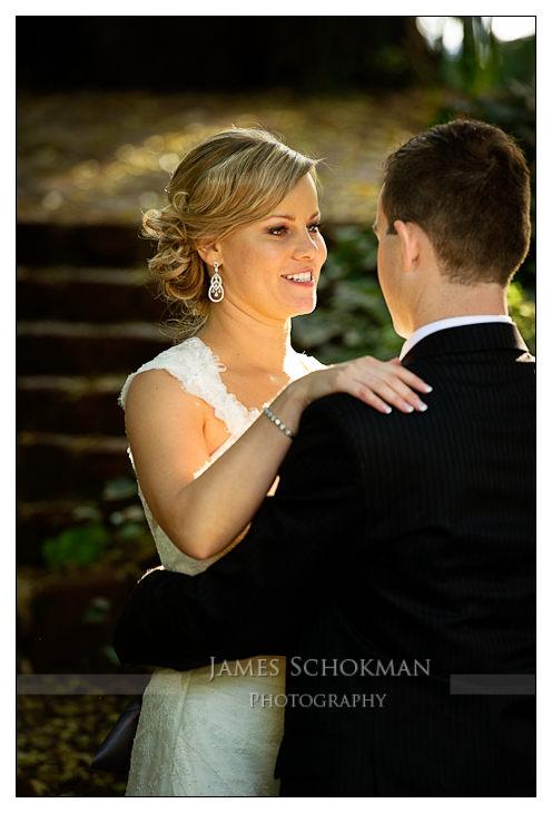 wedding portrait harold boas gardens perth