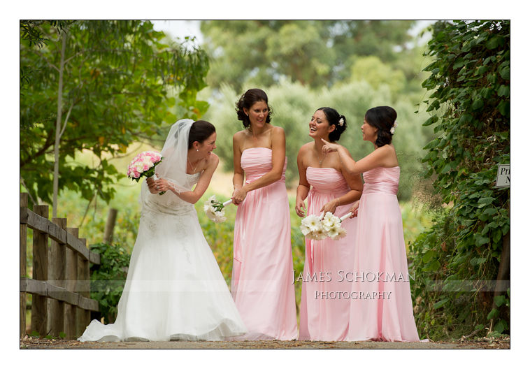 carilley bridal party photo perth schokman wedding