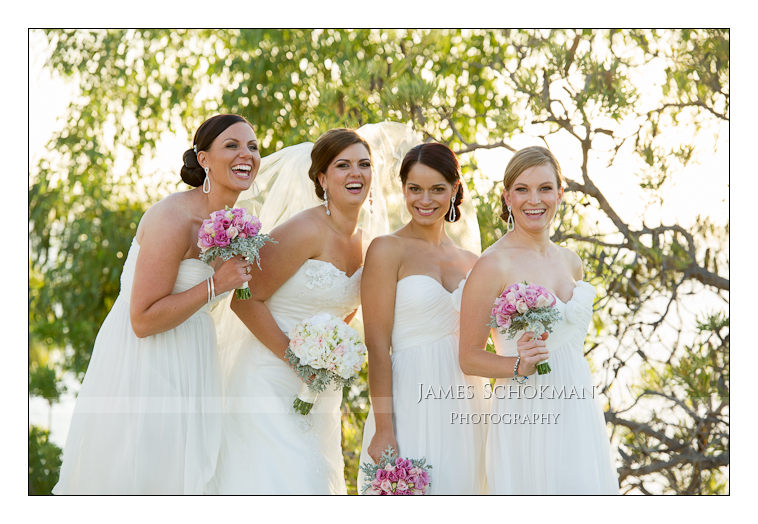 beautiful bridal party at perth wedding photography