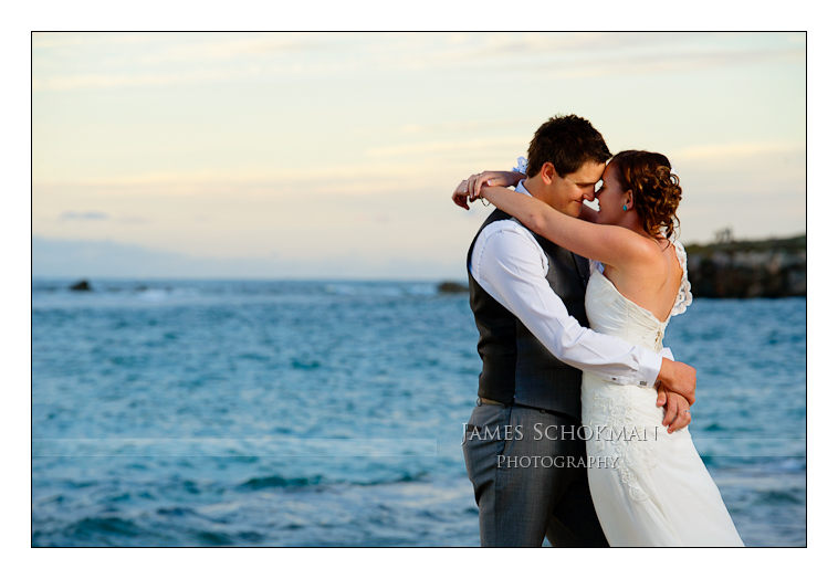amazing beach wedding photograph perth