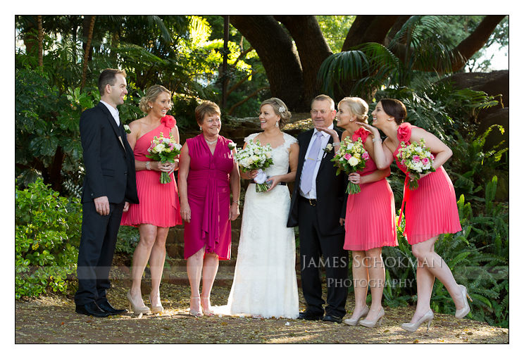 family in the gardens perth weddings